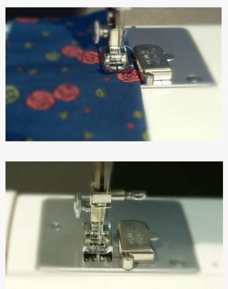Magnetinė liniuotė siuvimo mašinoms