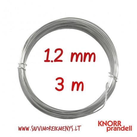 Varinė viela su sidabro padengimu, 1,2 mm; 6461123