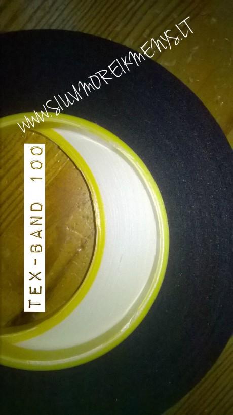 Lipni juosta su klijų padengimu, TEX-BAND 100, 15 mm