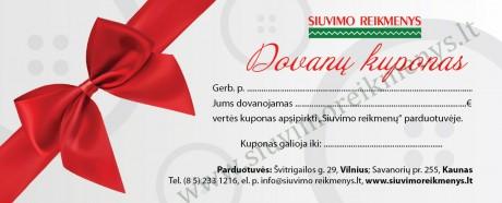 Dovanų kuponas, 20€