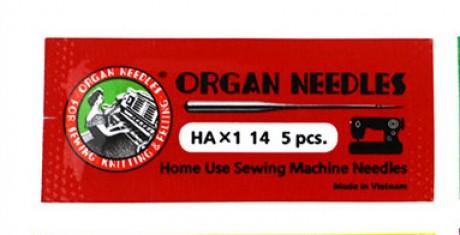 Standartinių mašininių adatų komplektas AO-HAX1AR/90