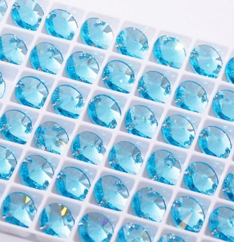 Prisiuvamas kristalas 3200/10 Light Turquoise F