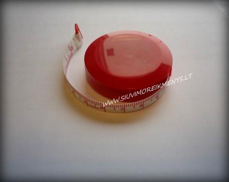 Centimetrinė juostelė-ruletė RS150C