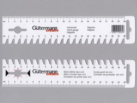 Gutermann liniuotė siuvėjams