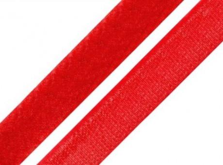 Prisiuvama kontaktinė juosta Lecron 20 mm. raudona LOOP