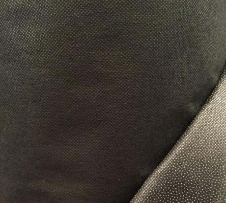 Neaustinis klijinis audinys (flizelinas) sp. juoda 5052BS4/90