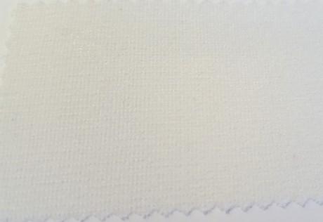 Teksturizuoto poliesterio (mono elastic) klijinis audinys sp. balta 1706BS9/90