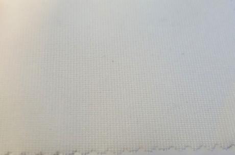 Teksturizuoto poliesterio (mono elastic) klijinis audinys sp. balta 1718XS8/90