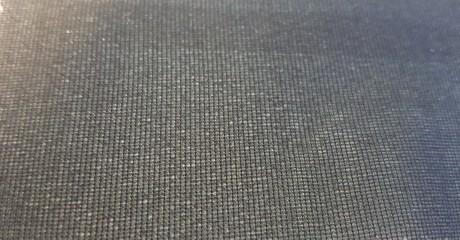 Teksturizuoto poliesterio (mono elastic) klijinis audinys sp. juoda 1718XS8/150