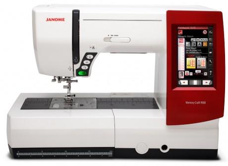 Kompiuterinė siuvimo-siuvinėjimo mašina Janome MC9900