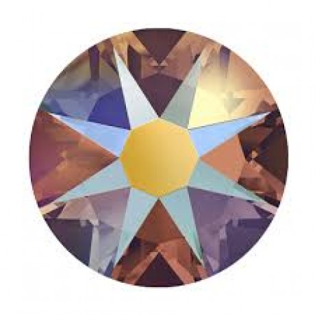 Swarovski kristalai 2078/34 Topaz Shimmer A