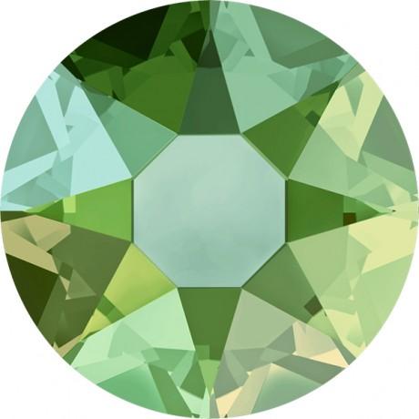 Swarovski kristalai 2078/34 Peridot Shimmer A