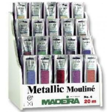 Madeira metalizuoti siuvinėjimo siūlai Nr.4