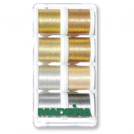 Madeira metalizuoti siūlai 8019