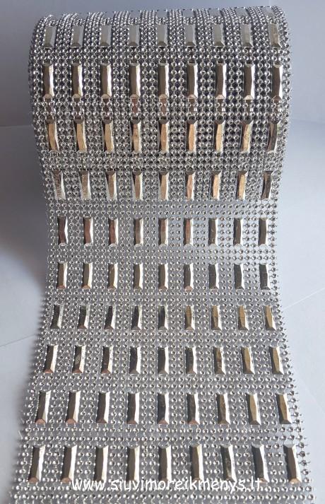 Dekoratyvinė blizgi juosta 120 mm(3)