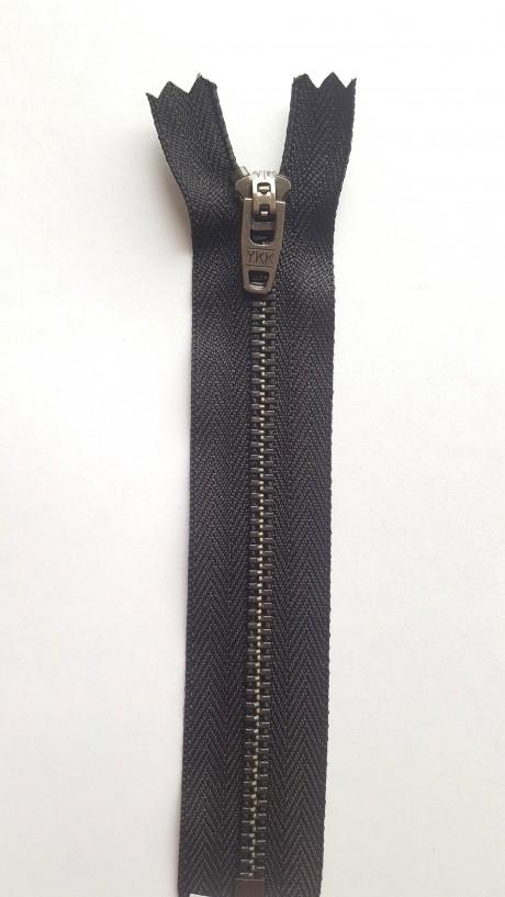 YKK užtrauktukas į kelnes/džinsus, 18 cm