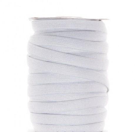 Austa elastinė juosta (guma) 10 mm, sp. balta