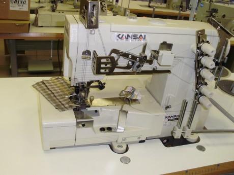 Plokščesiūlė siuvimo mašina, skirta kantavimui KANSAI SPECIAL WX8803F