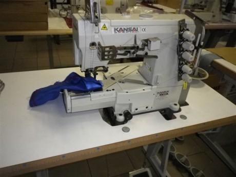 Plokščiasiūlė siuvimo mašina KANSAI SPECIAL RX-9803CL