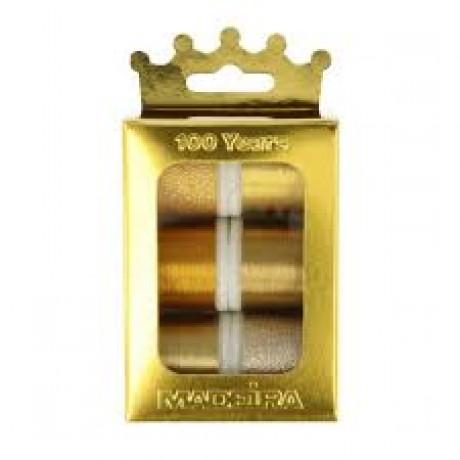 Madeira metalizuoti siuvinėjimo siūlai 1000