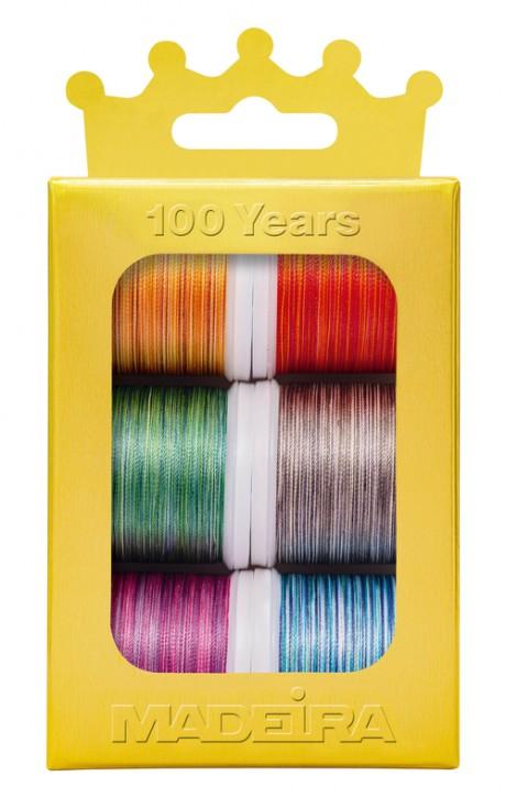 Madeira siuvinėjimo siūlai Multicolor 1003