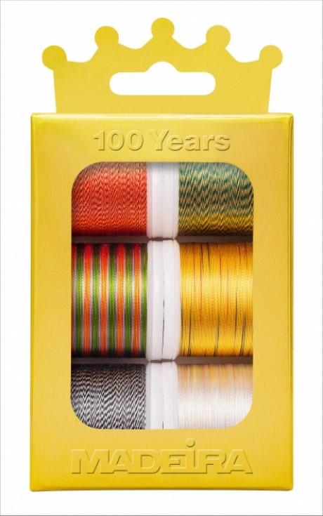Madeira siuvinėjimo siūlai Multicolor 1004