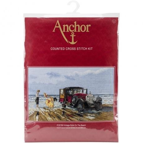 Anchor siuvinėjimo paveikslas su siūlais PCE760