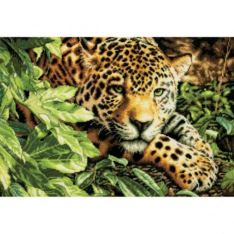"Dimensions siuvinėjimo rinkinys ""Leopard in Repose"""