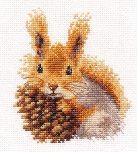 """Alisa siuvinėjimo rinkinys """"Squirrel"""""""