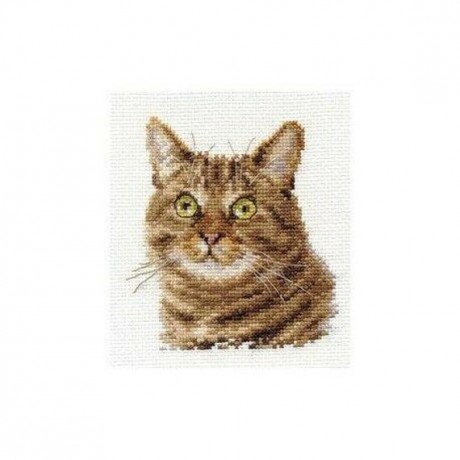 "Alisa siuvinėjimo rinkinys ""European cat"""