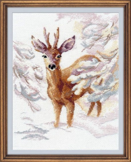 "Oven siuvinėjimo rinkinys ""A rose deer"""