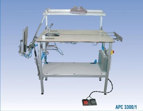 Pusiau automatinis marškinių sulankstymas Rotondi APC 3300 Series