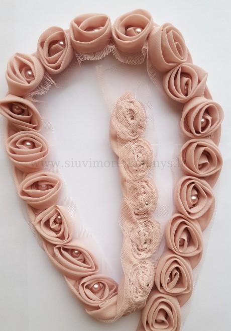 Dekoratyvinė juosta Rožė, sp. rožinė