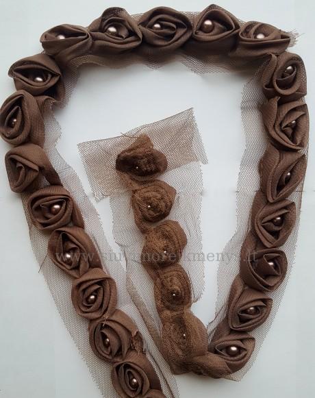 Dekoratyvinė juosta Rožė, sp. ruda