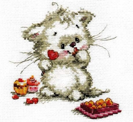 """Alisa siuvinėjimo rinkinys """"Sweet candy"""""""