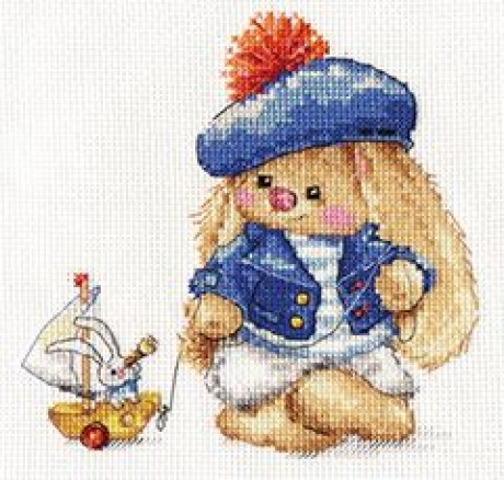 """Alisa siuvinėjimo rinkinys """"Zaika Mi.Sailor"""""""