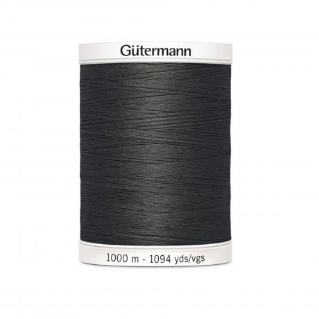Gütermann siuvimo siūlai 1000 m, sp. juoda