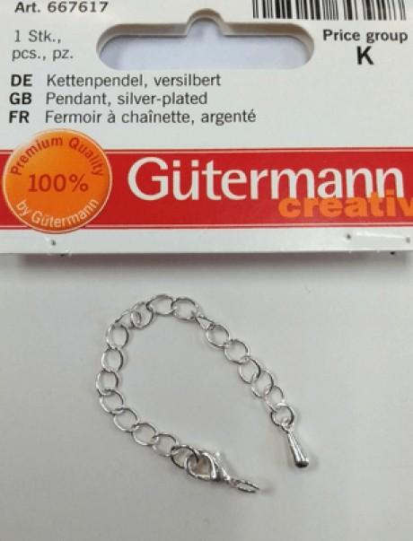 Gutermann užsegimas su grandinėle 667617