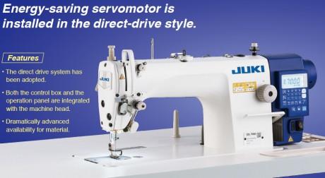 Juki DDL7000A Pilnai automatinė naujos kartos tiesiasiūlė siuvimo mašina
