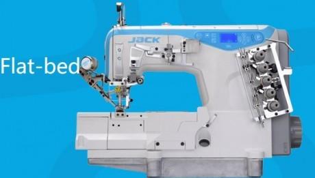 Plokščiasiūlė siuvimo mašina neautomatinė JACK W4-D-01GBX356