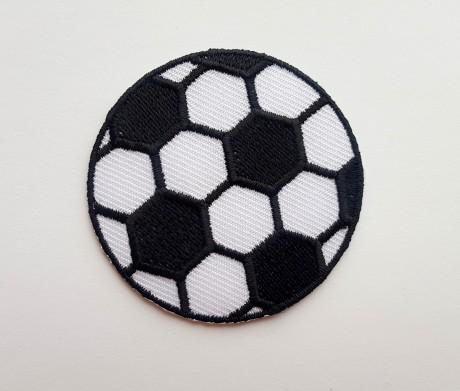 Siuvinėta klijuojama aplikacija kamuolys mažas
