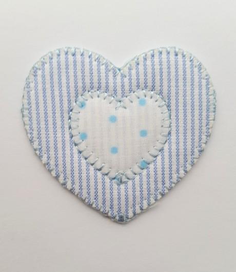 Tekstilinė termo aplikacija 269/857 mėlyna