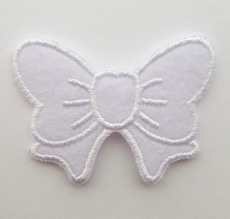 Tekstilinė termo aplikacija 621 balta