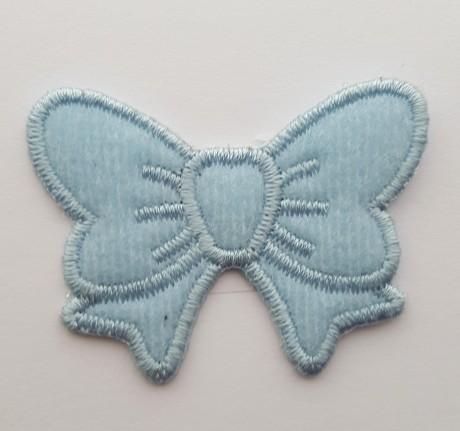 Tekstilinė termo aplikacija 621 mėlyna