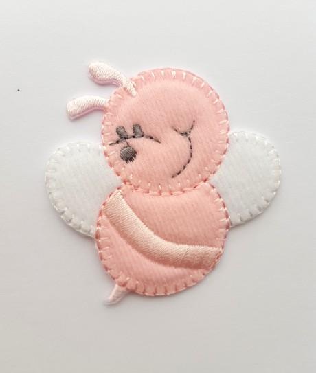 Tekstilinė termo aplikacija 032/167 rožinė