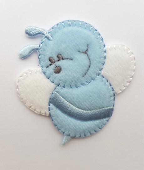 Tekstilinė termo aplikacija 032/167 mėlyna