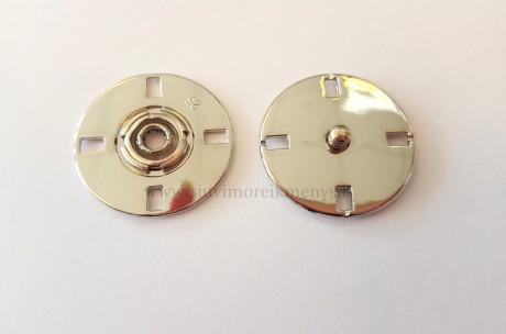 Metalinė spaudė, SFMZMEP/25 mm, sp. sidabro