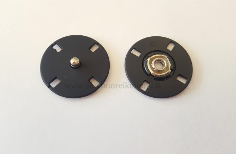 Metalinė spaudė, SFMZMEP/25 mm, sp. juoda