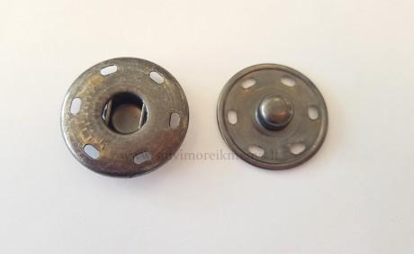 Metalinė spaudė P4926/25, sp. tamsinto sidabro
