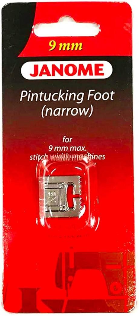 Janome dekoratyvinių įsiuvų pėdelė (Pintucking Foot)